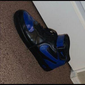 Custom Nike Air Force 1 (Royal/Black)